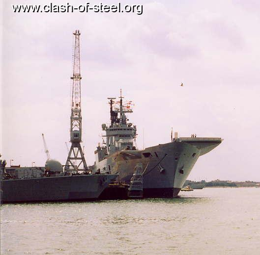 Royal Gate Dodge >> Clash of Steel, Image gallery - HMS Ark Royal