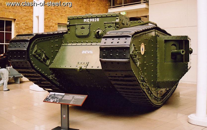 Royal Gate Dodge >> Clash of Steel, Image gallery - British First World War Mk ...
