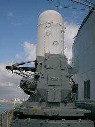 Ark Royal, Anti-ship missile defense gun.