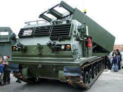 Guided Multiple Launch Rocket System (GMLRS)