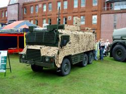 British Vector 6x6 Armoured Patrol Vehicle