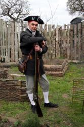American War of Independance - Loyalist fighter